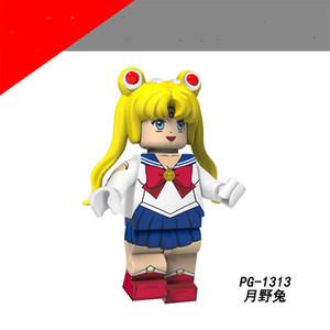 Vendite calde Originale serie anime Bella ragazza assemblata minifigure per bambini adulto azione figure figure regalo