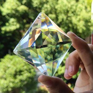 50x70mm Square Chandelier Crystals Pendants Suncatcher Crystal Prisms Hanging Ornament Accessories For Chandeliers Home Decor H jllcKb