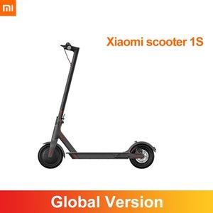Xiaomi Smart Scooter Electric 1s Mijia Mini Adult Motor Pieghevole Pieghevole Leggero Skateboard Sports Scooter 25km / h 30km 7800mAh cn