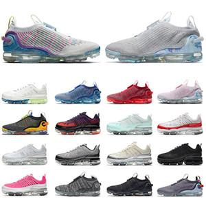 nike air max vapormax 2020 flyknit airmax 360 Nueva llegada  Fly Knit Mens para mujer 360 Zapatos de correr Triple Negro Blanco Deporte Deporte Zapatillas de deporte Tamaño 36-45