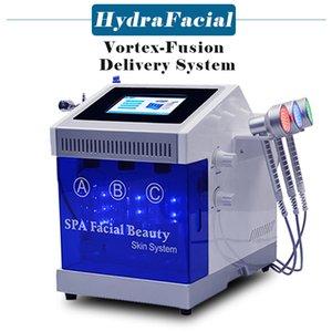 Hydra Facial Machine Ossygen Jet Peel Skin Ringiovanimento Bio RF Face Sollevamento della pelle Scrubber Deep Deep Machine