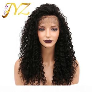 Brailin Full Lace Wigs Malasia Peruano Rizado Color Natural Venta al Por Mayor Barato Cabello Humano Peluca de encaje completa Puede ser teñido de encaje rizado peluca frontal