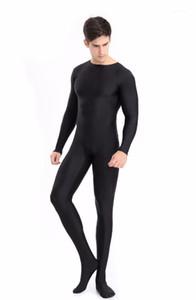 Body de los hombres adultos Solid High Elastic Sumpsuit Ballet Dance Etapa Trajes de Bodybuilding Body Traje Hombre Shaper Ropa W12061