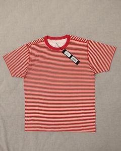 дешевые горячие продажи 4 цвета 19ss 233x9 Марина футболка topstone pigmenting print striped футболки размер: s-3xl