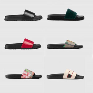 2021 Woman Man Sandals quality Stylish Slipper Fashion Classics Sandals Men Women Slipper Flat shoes Slide Eu:35-45 With box shoe02 08