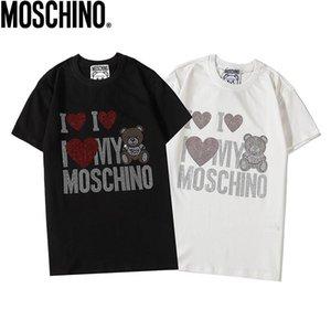 Ummer Paris para hombre ropa de lujo taladro caliente camiseta diagonal letra impresión t shirt moda r tshirts casu; 23