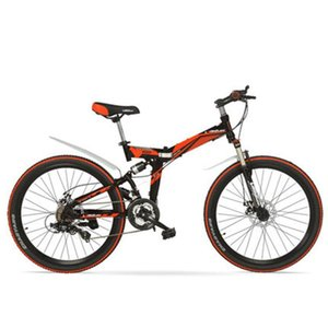 K660M Big Discount, 21 Speeds, 24 26 inches, Folding Bike, Lockable, Full Suspension, Double Disc Brake, Mountain Bike.