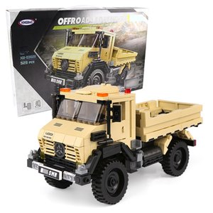 Truck Building Block Car Model Bricks Kids Toys with Original Box