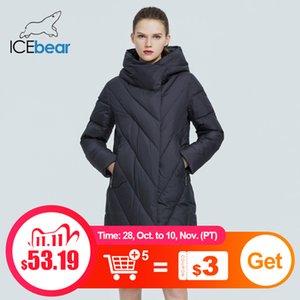 ICEbear Winter Women's Hooded Coat New Fashion Women's Jacket female parka Brand Women's Clothing GWD20149D 201123