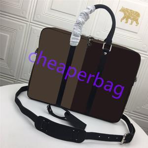 Crocodile Pattern Briefcases Men Soft Leather Shoulder Bag Business office Computer laptop bag Vintage Handbags FJ6688