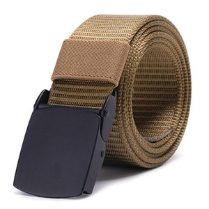 Breathable Tactical Belt Military Nylon Waist Support Strap Sports Hunting Training Hiking Outdoor Army Gear Waistban Duty Molle sqcrLT