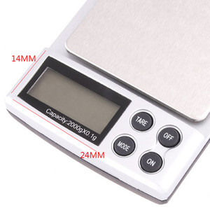 Portable Pocket Digital Scale Mini Silver Coin Gold Diamond Jewelry Weigh Balance Weight Scale Electronic Kitchen Scales CCF4306