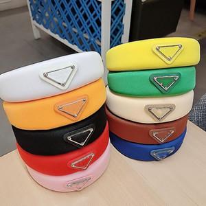 Designer di lusso Spugna Fascia per capelli Bande per capelli per le donne Girl Brand Elastic Letter P Headband Sport Fitness Fascia Testa involucro