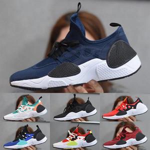 2020 new Huarache 7.0 E.D.G.E TXT QS mens React Running Shoes Women Huaraches 7s Triple black white Zapatos Sneakers 36-45