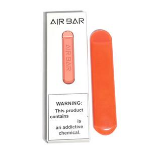 600 Puffs Air Bar Descartável Vape Pen 1.8ml POD Cartuchos Airbar E Cig Pods Dispositivo 801447 A + Bateria