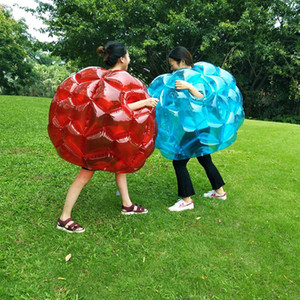 Inflatable Bubble Bumper Balls Body Collision Bumper Ball Friendly For Kids Outdoor Activity Body Punching Ball Y1127
