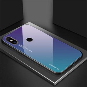 Gradient Tempered Glass Case For Xiaomi Mi 8 Lite Mi A2 A1 A3 9t 9 Redmi 6 Pro 5 Plus 7 6a sqcDys