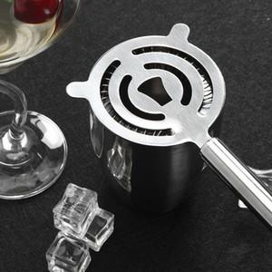 Filtre de cocktails en acier inoxydable fil de glace Boisson mélangée Colandre filtre Percolator Bar Outil AHD3328