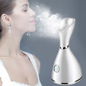 Hot Spray Steam Face Ion Beauty Instrument Nano Ionic Face Steamer for Face Beauty Salon Personal Sauna SPA Mini Facial Spr