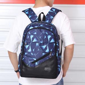 FengDong kids school backpack boy book bag woman back pack male laptop backpack USB charge port men travel bags boys school bags LJ200917