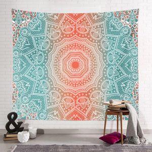 150 * 130 cm Bohemian Goblen Mandala Plaj Havlusu Battaniye Hippi Atmak Yoga Mat Havlu Hint Polyester Duvar Asılı Dekor 40 Tasarım YYF4254