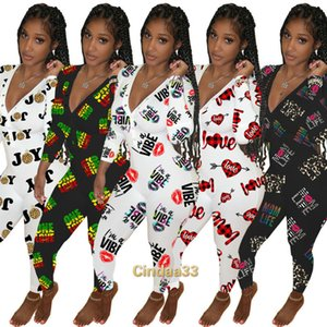 Women Jumpsuits Slim Sexy Designer Deep V-neck Fashion Element Valentine Day Home Wear One Piece Pants Ladies New Casual Rompers 2021
