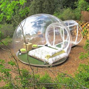 Gonflable Bubble Tente Diamètre 3M Bubble House Hotel pour Human Transparent Pas cher Souffleur gratuit Livraison gratuite en gros