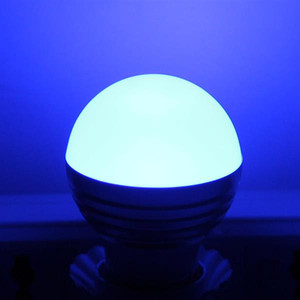 E27 3W RGB LED Dimmable Light Bulb 85-265V Light Bulb office New and high quality Light Bulbs Fast delivery