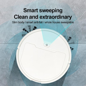 Robot Vacuum Cleaner USB Charging Smart Sweeping Robot Automatic Sweeper Mopping Powerful Suction Home Floor Cleaning Machine