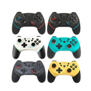 2020 for Nintend Switch Pro Game Console Gamepad Wireless Bluetooth Gamepad Joystick Controller with 6-Axis Handle Y0114