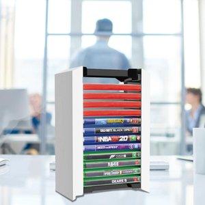 Game Card Box Halter Spiele Disc Storage Tower Storage Case CD Stand Holder für PS4 PS5 Xbox One NS Game Console Zubehör