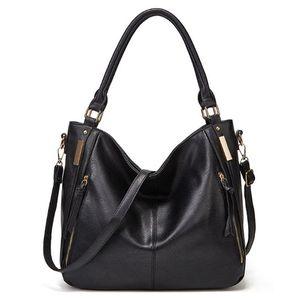 Handbag Bag Female Solid Bags for Women Zipper Fashion Leather Fashion Crossbody Shoulder Bag Messenger Ladies Hand Bags