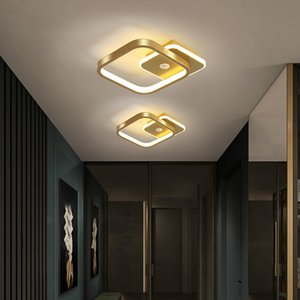 Human Body Induction Lamp LED Corridor Lamp Simple Modern Entrance Ceiling Light Fixture Stairwell Balcony Ceiling Lamp