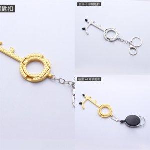 J1B Metal Rhinestone Honda European Keychain Prevenzione epidemia Prevenzione creatività American-Style Keychain Butterfly Decoration Keychain Piccolo