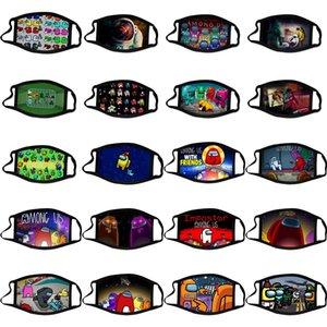 Tra US Mask Designer Fashion Face Mask Mask Bambino Victory Emergency Game Kid Cartoon Games Maschera di cotone riutilizzabile adulto