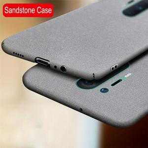 Casos de telefone para OnePlus 8 7T 7 PRO 6T 6 Caso Slim Sandstone Matte Anti-Skidproof Cubra Dura Para One Plus 8 Pro Capa