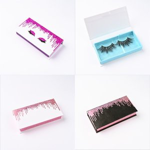 Quicksand Eyelash Boxes A Pair Of Packaging Eyelashs Case Good Qualitys Organizer Cosmetic Packaging Looking Hot Sale 5ad E2