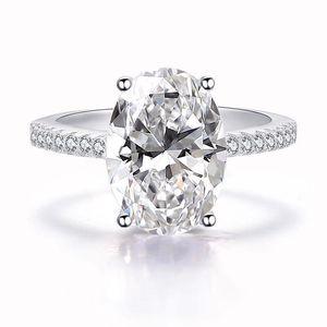2019 Novos Anéis de Casamento Das Mulheres Moda Prata Gemstone Anéis de Noivado Jóias Simulado Diamante Anel para casamento 332 J2