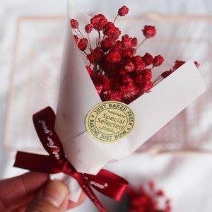 Regalos del festival Pequeñas flores secas con flósculos estrellados para el hogar Decoración de la boda Sky Star Star Bouquet Decor Photo Props JH651