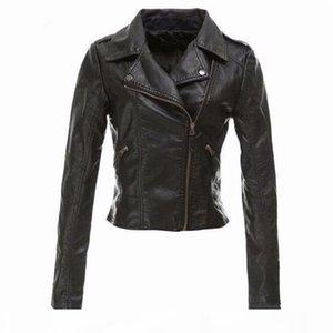 autumn winter Jaqueta De Couro Feminina Women's Pu Leather Jackets Plus Size Coats For Ladies Outerwear Jacket Women