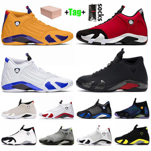 Nike Air Jordan 14 14s Jordan Retro 14 Mit Box 2020 Jumpman Herren-Basketball-Schuhe SatinJordanienRetro Universität Gold Gym Red Hyper Königs Bred Trainer Turnschuhe