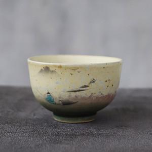 Luwu Ceramic Teacup Mountain Handmade Chinês Kung Fu Cup 70ml Q0105
