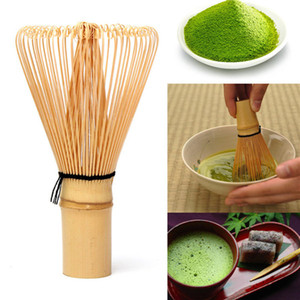 Matcha Green Tè in polvere Whisk Matcha Bamboo Whisk Bamboo Chasen Utile Pennelli Utile Accessori da cucina Polvere DHF3522