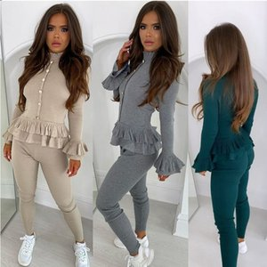 2020 new women's European and American style European and American women's pit bar fashion casual suit