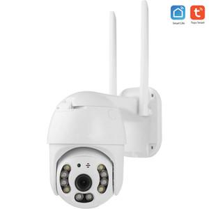 Tuya Smart Life Google Alexa PTZ 1080P 2MP HD Waterproof Outdoor IP Camera P2P WiFi Security Camera CCTV Surveillance Camera