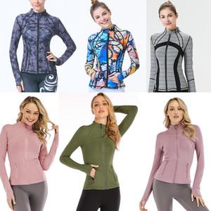 2021 lu yoga shirt leggings designers yogaworld women gym sports elastic fitness lady Elastic Fitness Lady Full clothe shirts #595