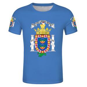 Melilla Flag T-shirt DIY free custom name number Spain Provincial Nationalities Region T-shirt print Spanish flag photo T-shirt
