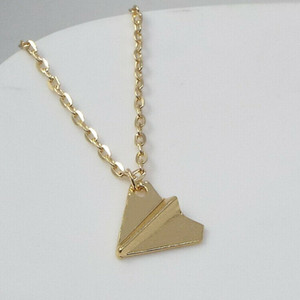 Harry Styles Merch Necklace One Direction Vintage Paper Airplane Pendant