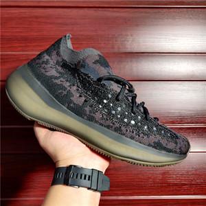 2021 Kalsit Glow Kanye West Sneakers Mist Mavi Yulaf Siyah Mor Azure Biber Yansıtıcı Erkek Kadın Koşu Ayakkabıları ile Kutusu Boyutu 4-13