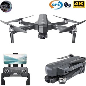 SJRC F11 / F11 Pro WiFi FPV Katlanabilir RC Drone GPS 1080 P / 4 K HD Kamera ile Fırçasız Motor 3-Axis Gimbal Quadcopter Oyuncaklar Drones